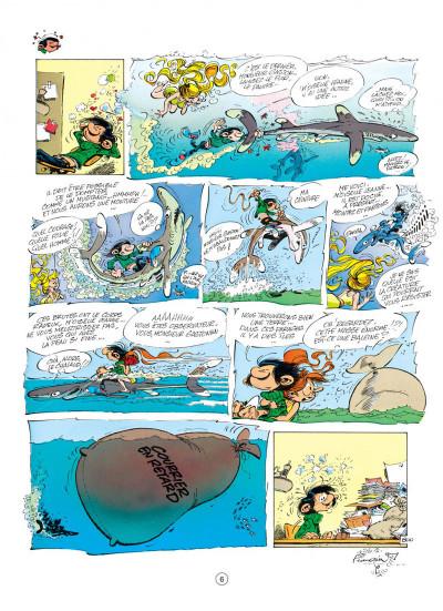 Page 6 gaston tome 16 - lagaffe mérite des baffes