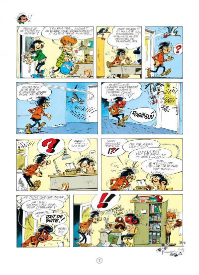 Page 7 gaston tome 16 - lagaffe mérite des baffes