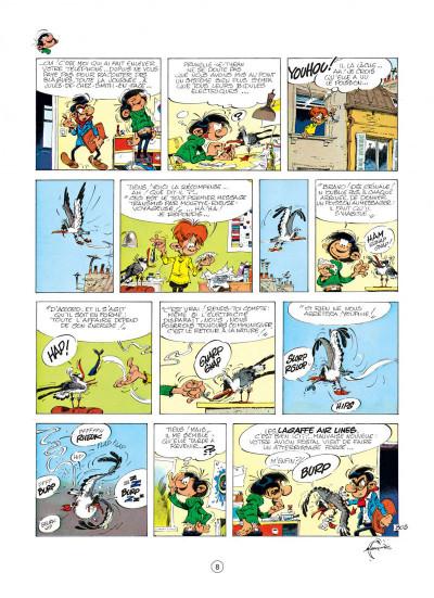 Page 8 gaston tome 16 - lagaffe mérite des baffes
