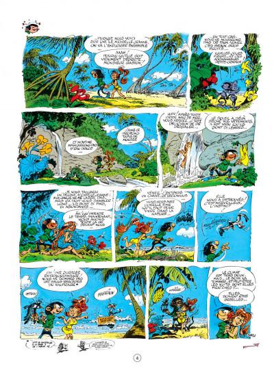 Page 4 gaston tome 17 - la saga des gaffes