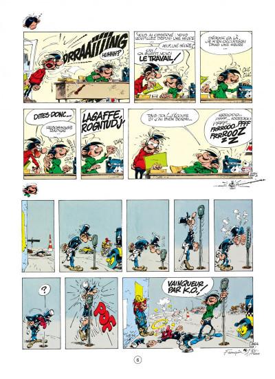 Page 6 gaston tome 17 - la saga des gaffes