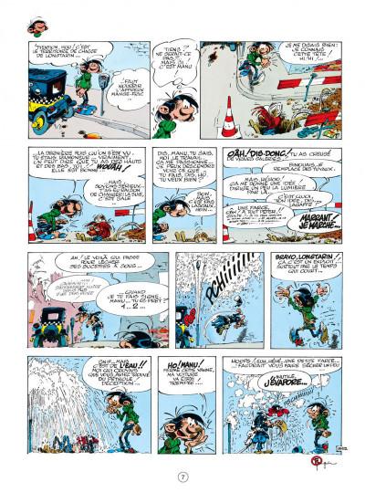 Page 7 gaston tome 17 - la saga des gaffes