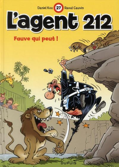 Couverture l'agent 212 tome 27 - fauve qui peut !