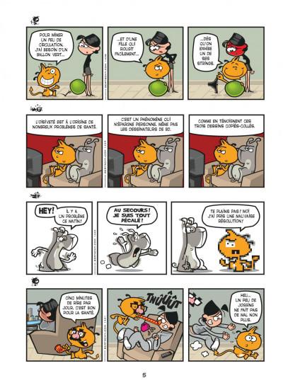 Page 5 nelson tome 9 - fainéant génétique