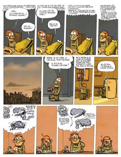 Page 3 jacques, le petit lézard géant tome 3 - relativement discret