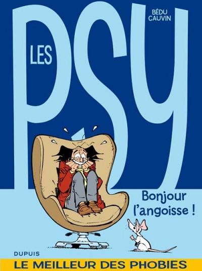 Couverture les psy - la compil tome 1 - bonjour l'angoisse