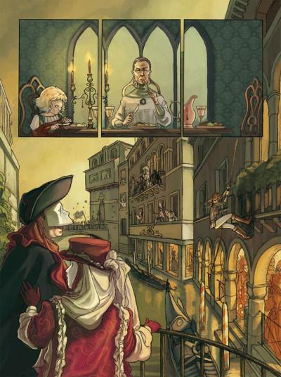 Page 1 sorcières tome 1 - bianca