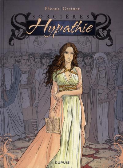 Couverture sorcières tome 2 - hypathie