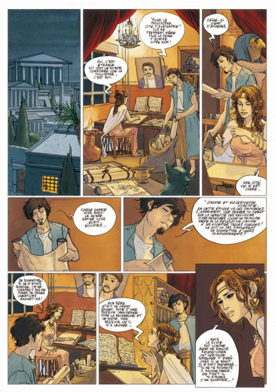 Page 2 sorcières tome 2 - hypathie