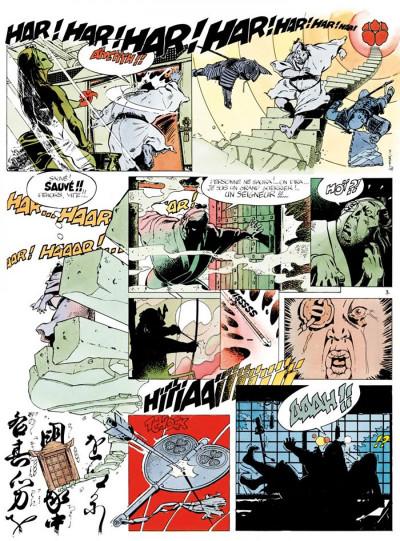 Page 3 kogaratsu - intégrale tome 1 - le mont au lotus de sang