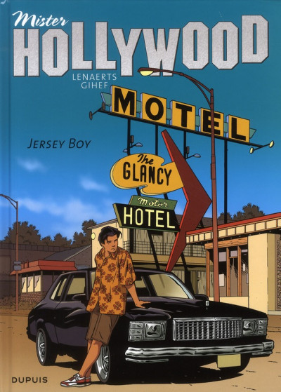 Couverture mister hollywood tome 2 - jersey boy