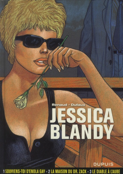 Couverture jessica blandy - intégrale tome 1