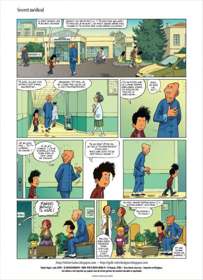 Page 2 mon pépé est un fantôme tome 3
