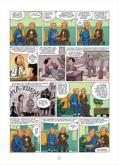 Page 4 mon pépé est un fantôme tome 3
