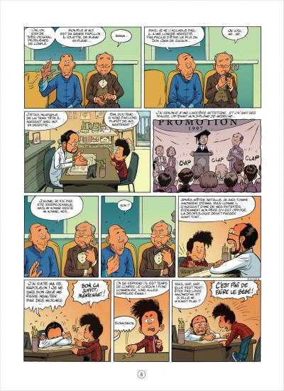 Page 5 mon pépé est un fantôme tome 3