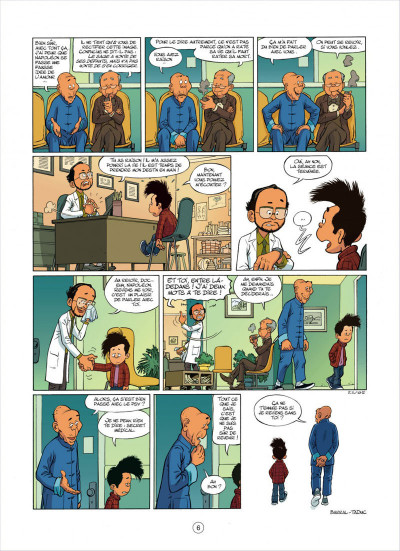 Page 6 mon pépé est un fantôme tome 3