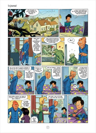 Page 7 mon pépé est un fantôme tome 3