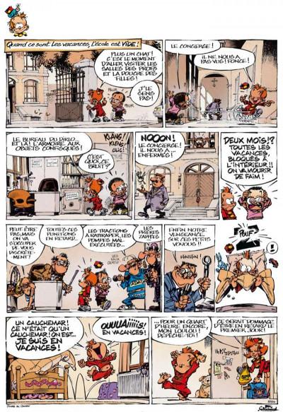 Page 1 le petit Spirou tome 15 - tiens-toi droit !
