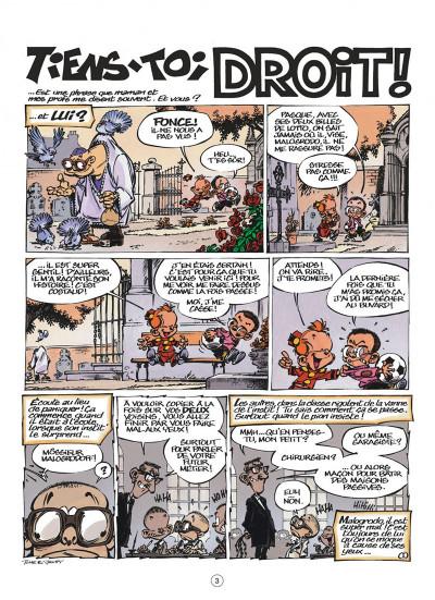 Page 3 le petit Spirou tome 15 - tiens-toi droit !