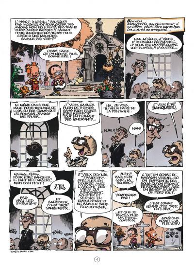 Page 4 le petit Spirou tome 15 - tiens-toi droit !