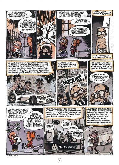 Page 5 le petit Spirou tome 15 - tiens-toi droit !