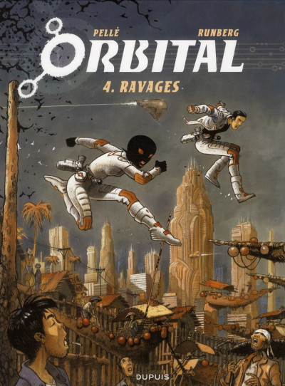 Couverture Orbital tome 4 - ravages