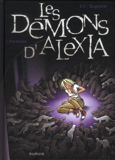 Couverture Les démons d'Alexia tome 7