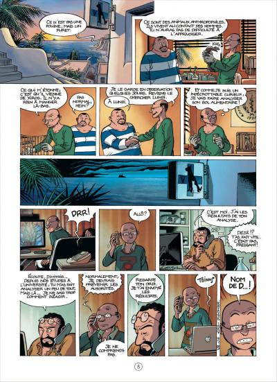 Page 5 Les démons d'Alexia tome 7