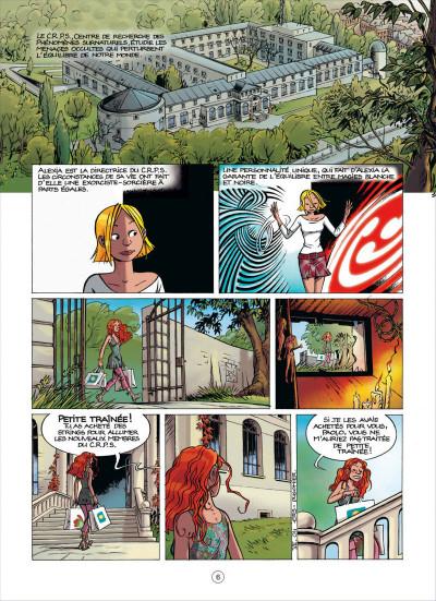 Page 6 Les démons d'Alexia tome 7