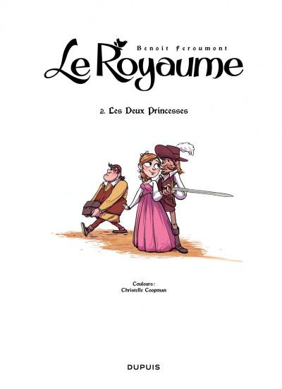 Page 1 le royaume tome 2 - les deux princesses