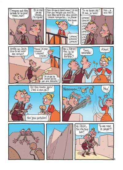 Page 4 le royaume tome 2 - les deux princesses