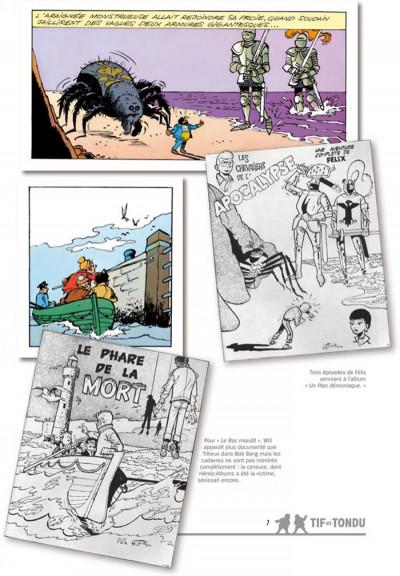 Page 2 Tif et Tondu ; INTEGRALE VOL.8 ; enquêtes mystérieuses