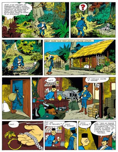 Page 3 Tif et Tondu ; INTEGRALE VOL.8 ; enquêtes mystérieuses