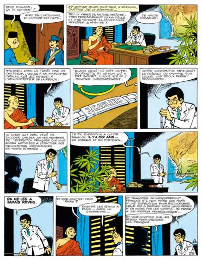 Page 4 Tif et Tondu ; INTEGRALE VOL.8 ; enquêtes mystérieuses
