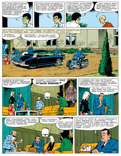 Page 5 Tif et Tondu ; INTEGRALE VOL.8 ; enquêtes mystérieuses