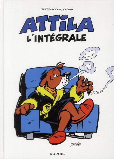 Couverture Attila - intégrale tome 1