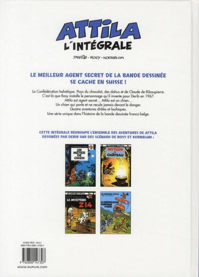 Dos Attila - intégrale tome 1