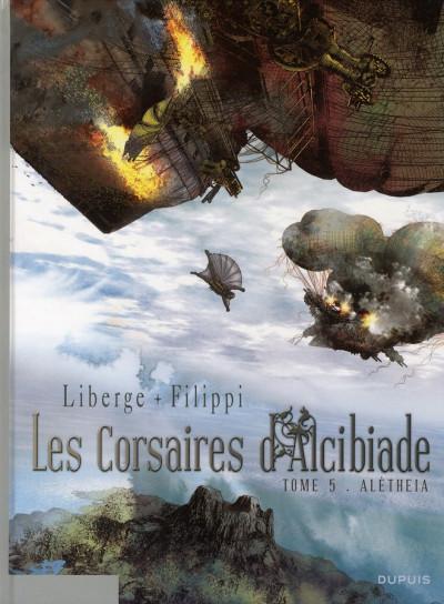 Couverture les corsaires d'Alcibiade tome 5 - Aletheia