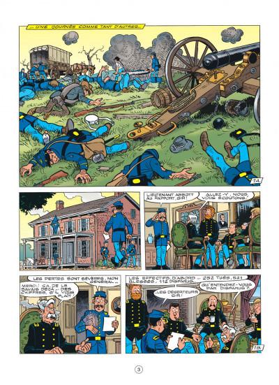 Page 3 les tuniques bleues tome 54 - miss Walker