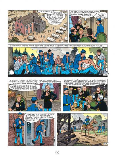 Page 5 les tuniques bleues tome 54 - miss Walker