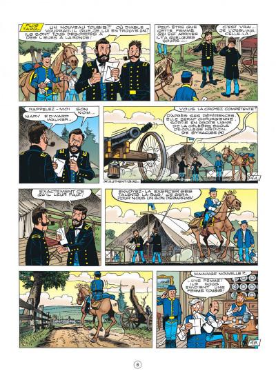 Page 6 les tuniques bleues tome 54 - miss Walker