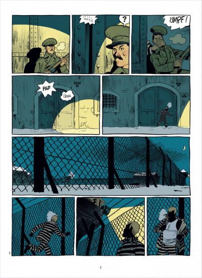 Page 2 esteban tome 4 - prisonniers du bout du monde