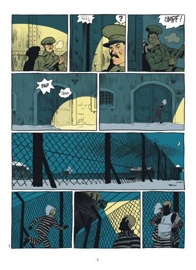 Page 3 esteban tome 4 - prisonniers du bout du monde