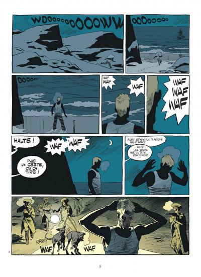 Page 5 esteban tome 4 - prisonniers du bout du monde