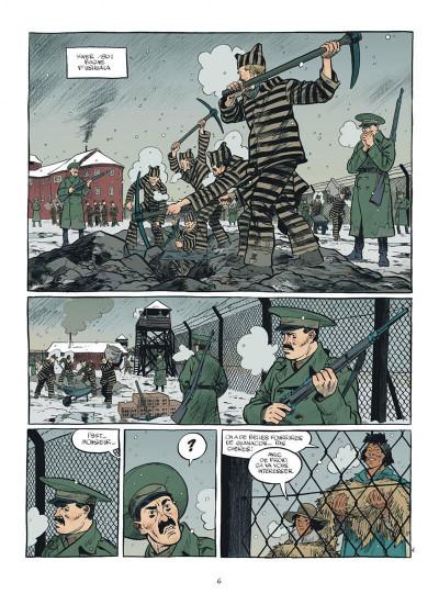 Page 6 esteban tome 4 - prisonniers du bout du monde