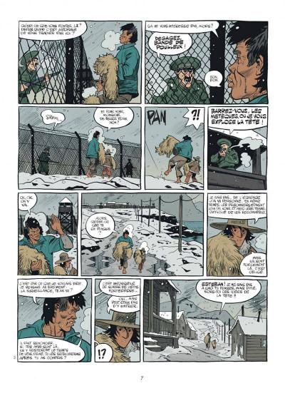 Page 7 esteban tome 4 - prisonniers du bout du monde