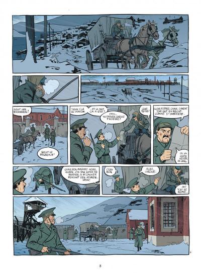 Page 8 esteban tome 4 - prisonniers du bout du monde