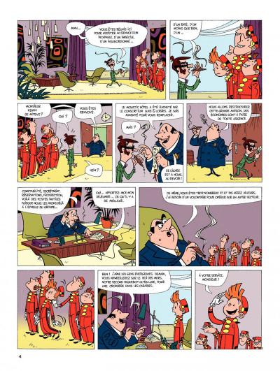 Page 2 spirou et fantasio tome 6 - panique en atlantique