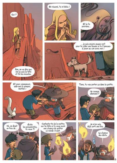 Page 2 les enfants d'ailleurs tome 5 - les larmes de l'autre monde