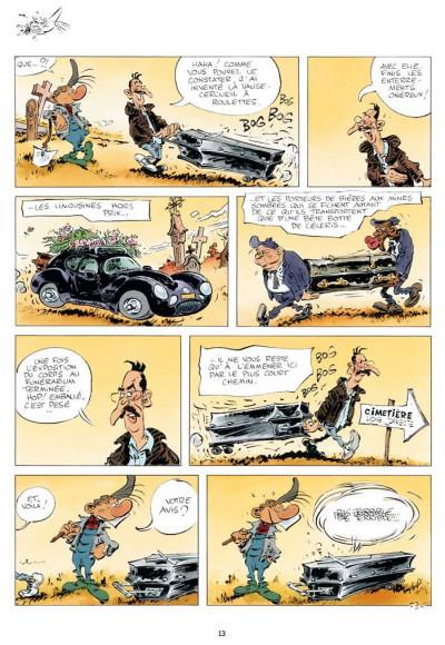 Page 1 Pierre Tombal tome 27 - entre la vie et la mort